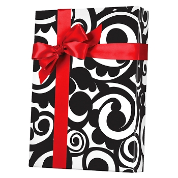 Bold Scroll Gift Wrap