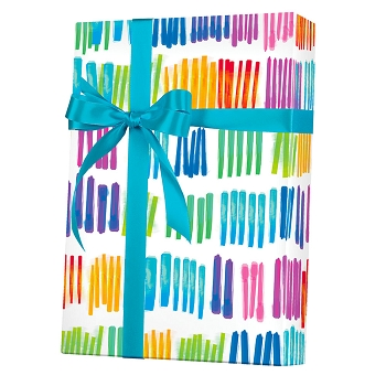 Watercolor Rainbow Gift Wrap