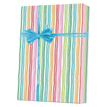 Stringy Stripes Gift Wrap