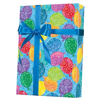 Ballon's Galore Gift Wrap