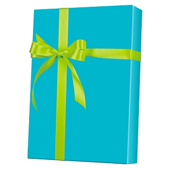 Turquoise Ultra Gloss Gift Wrap