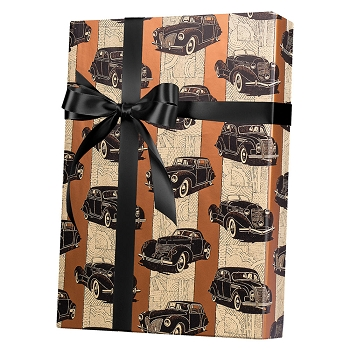 Cars Gift Wrap