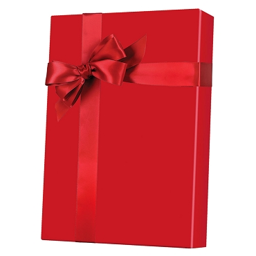 Super Red Ultra Gloss Gift Wrap