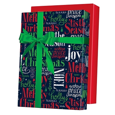 tis the Season Reversible Gift Wrap