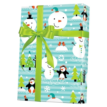 Chilly Chums Gift Wrap