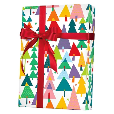 Rainbow Christmas Gift Wrap