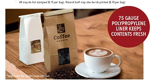 COFFEE BAGS - Natural Kraft