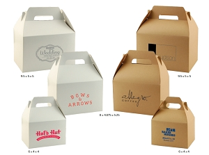 TAKE OUT - GABLE BOXES