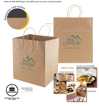 Jumbo Gusset Take out Bags