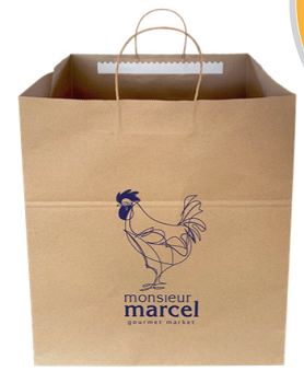 Tamper-Evident Shopping Bag