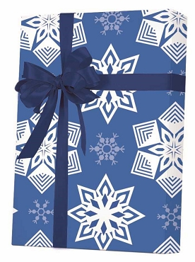 New ! - Paper Snowflakes Gift Wrap