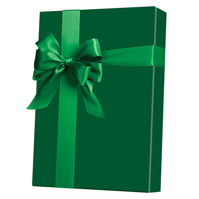 Forrest Green Ultra Gloss Gift Wrap
